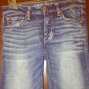 American Eagle Skinny Kick Jeans EUC Sz. 6L
